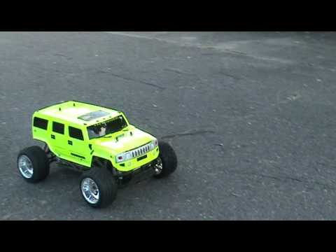 hummer benzin rc car youtube. Black Bedroom Furniture Sets. Home Design Ideas