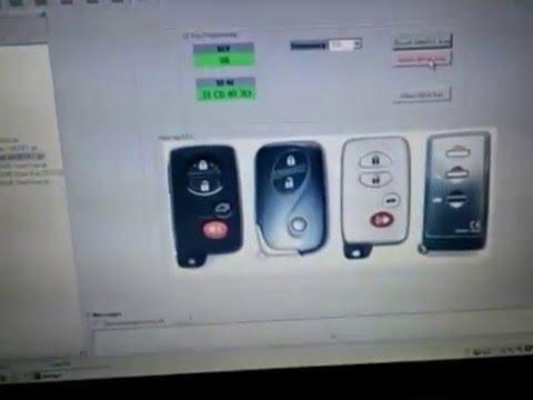 Toyota Smart key reset