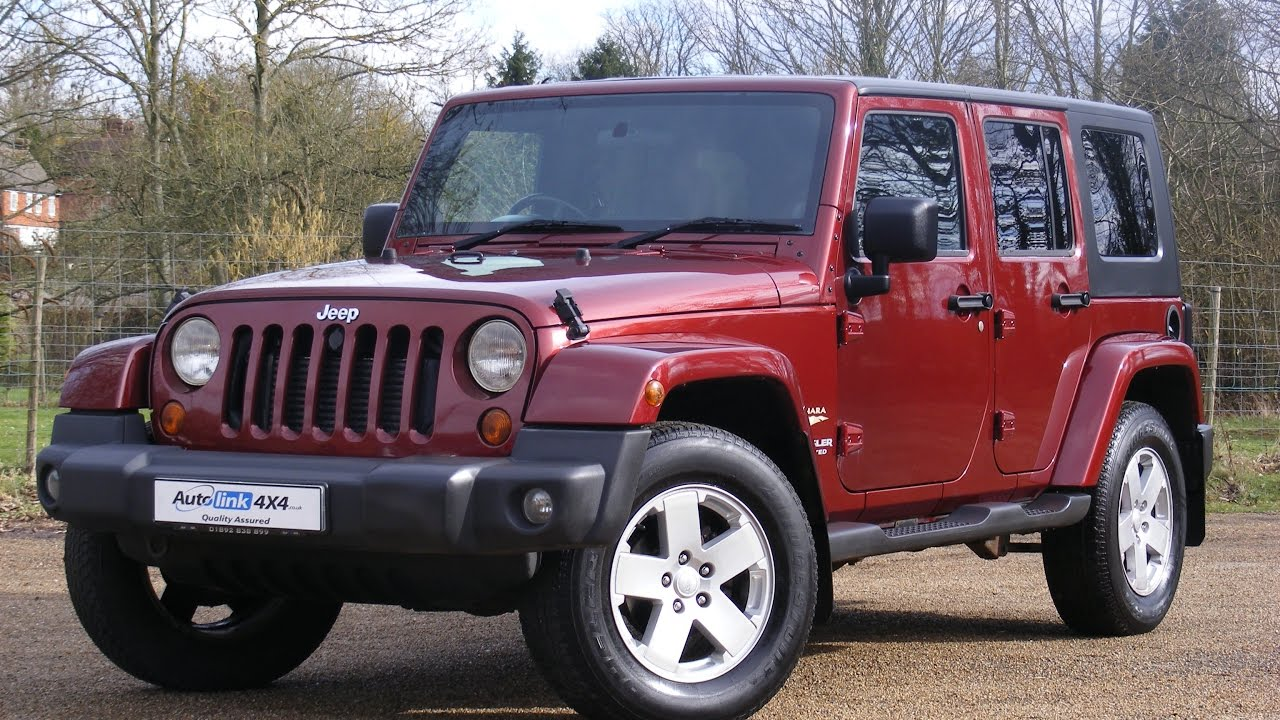 2008 Jeep Wrangler Sahara Unlimited 2 8 CRD Diesel Manual for sale in  Tonbridge Kent
