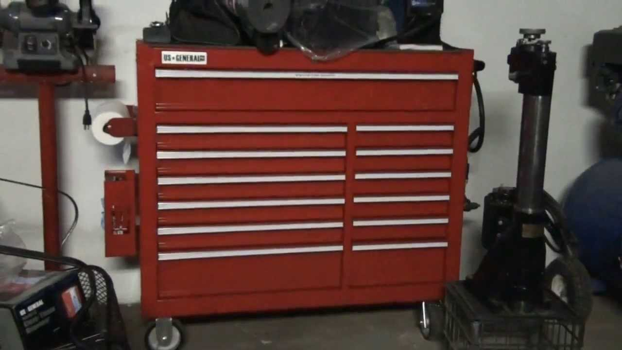 Harbor Freight Industrial  Drawer Roller Cabinet