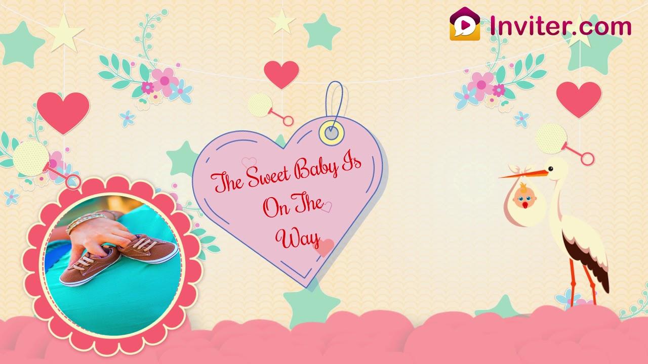 Best Baby Shower Invitation Maker Online With Rsvp