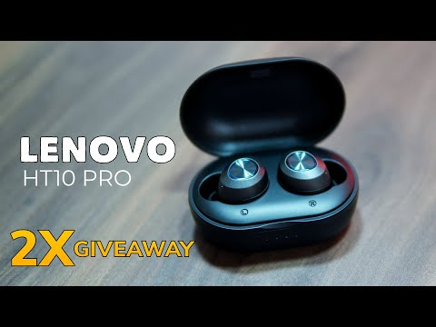 Lenovo HT10 Pro with EQ technology Best True Bluetooth Earbuds + 2X Giveaway