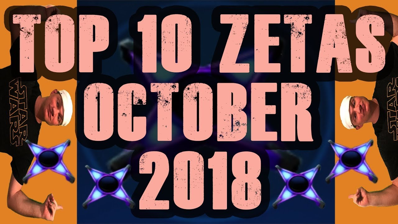 Top 10 Zetas October 2018! Plus, WHO TO SAVE ZETA MATS FOR!!! Star Wars  Galaxy of Heroes