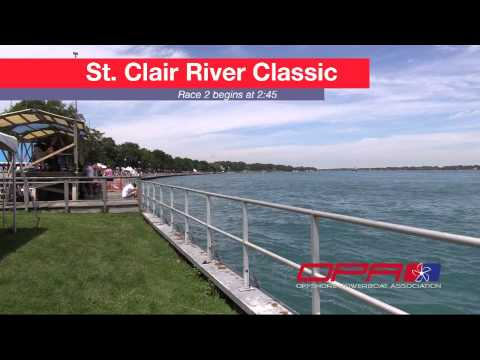 2015 St Clair River Classic