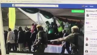 شاهد... لحظة محاولة اغتيال رئيس زيمبابوي
