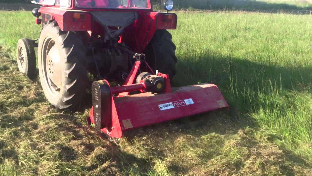 "Liberty Hydraulic Offset 60"" Flail Mower In Action"