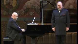 Markus Marquardt Wagner drei Lieder