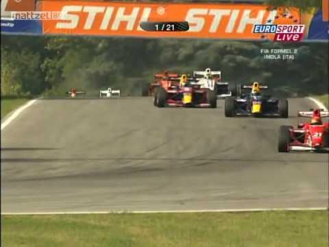Formula2 2009 Imola Race1 Start Carnage