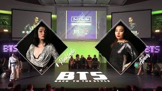 BTS 2019 \\ Waacking 1/2 Final • Pink Lady (Ita) vs Ainur (Kaz)
