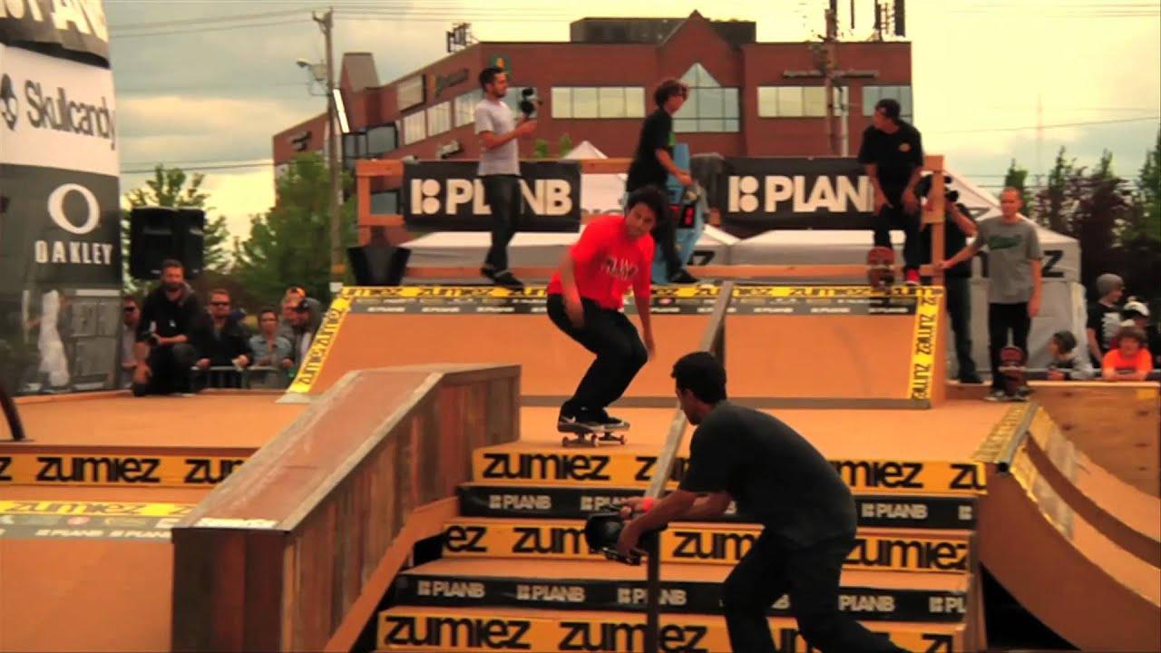 Zumiez - Plan B Team Demo Zumiez Couch Tour 2012 Portland
