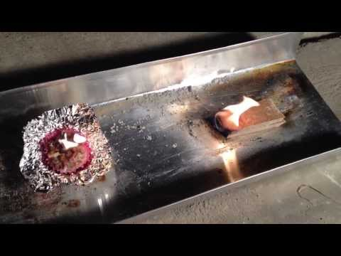 How to cheap 12 cents DIY Fire starter strike anywhere wood pellets Coleman Strike-A-Fire testing