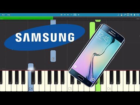 Samsung Galaxy Morning Flower Theme - Alarm Ringtone Piano Tutorial - How To Play