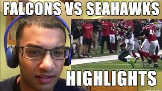 Atlanta Falcons VS Seattle Seahawks 1.14.2017 HIGHLIGHTS- NFL Playoffs, Divisional Round (REACTION)