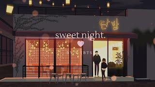 "Download lagu ""sweet night"" - v (bts) but it's closing hours at danbam pub (with lyrics)"
