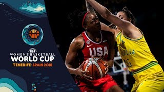 Australia v USA - Full Game - Final - FIBA Women's Basketball World Cup 2018