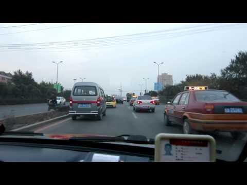 Taxi ride in China (Changchun, Jilin Province) 1/2