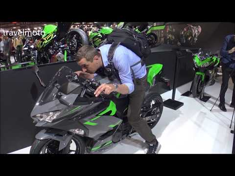 The Kawasaki Super-Sport 2019 Bikes (Show Room Italy EICMA)