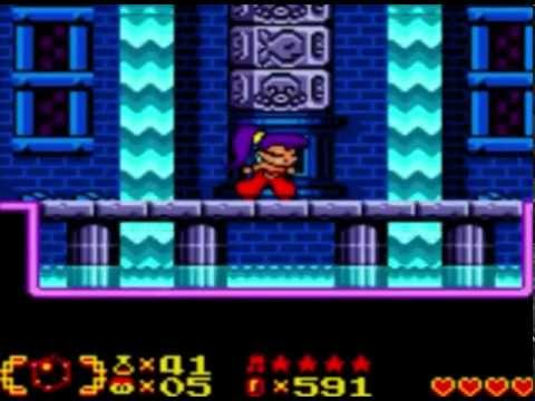 Shantae - Part 2: That's right, the Water Dungeon comes first.