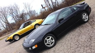 1996 Nissan 300 ZX Twin Turbo 4 Wheel Steer RETRO DRIVE REVIEW #ClassicCarWeek 2015
