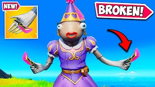 *NEW* TINY PICKAXES ARE BROKEN!! - Fortnite Funny and WTF Moments! #1270