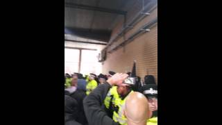 Nazi scum banana run Liverpool