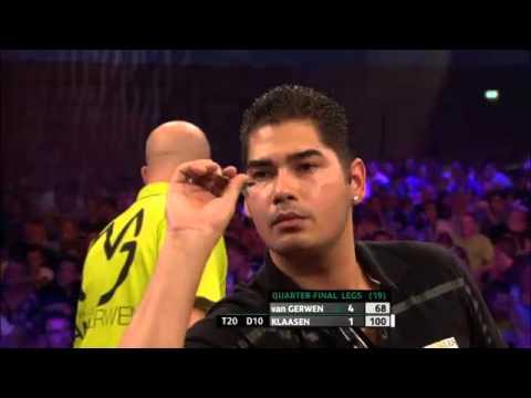 PDC European Darts Championships 2013 - Quarter Finals - van Gerwen vs Klaasen