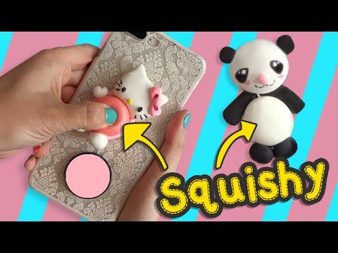 Squishy Panda y Hello Kitty :: Apachurrable Squishy DIY :: Chuladas Creativas