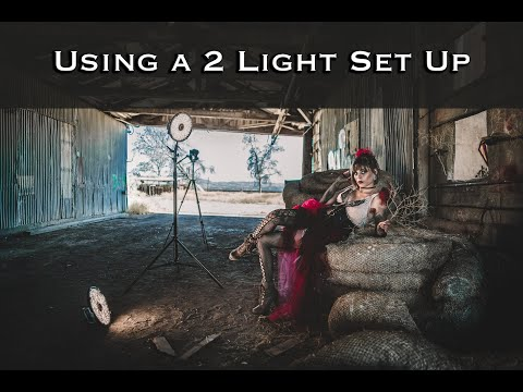 Using a 2 Light Set Up with Key and Accent Light for Great Results- Rotolight Aeos w/ the Sony A99ii