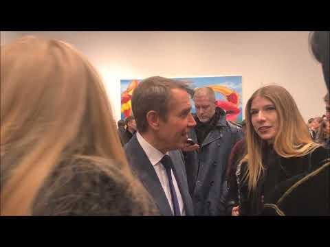Jeff Koons Easyfun - Ethereal at Gagosian Gallery