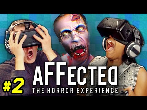 OCULUS RIFT- AFFECTED #2: THE HOSPITAL (React: Gaming)