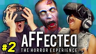 OCULUS RIFT- AFFECTED #2: THE HOSPITAL (React: Gaming) thumbnail