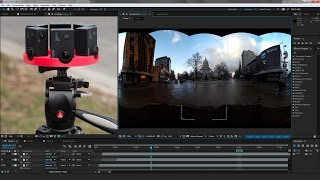 How to stitch VR 360 video using basic After Effects plugins