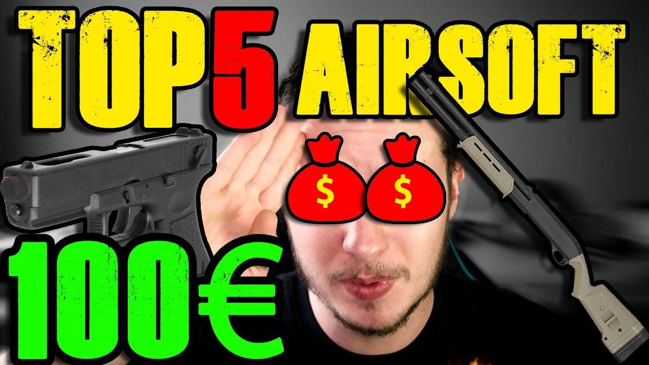 TOP 5 AIRSOFT Kaufen UNTER 100€ Beste Softair Tipps