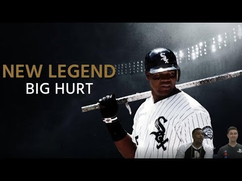 """Frank Thomas in MLB The Show 18! """"The Big Hurt"""" New Legend"""