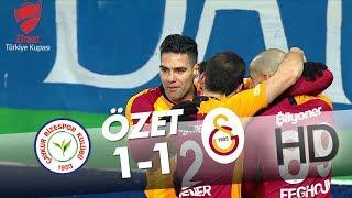 Çaykur Rizespor - Galatasaray Ziraat Türkiye Kupası Maçının Özeti