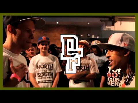 CHRONICLE VS NISHI | Don't Flop Rap Battle [NorthVsSouth]