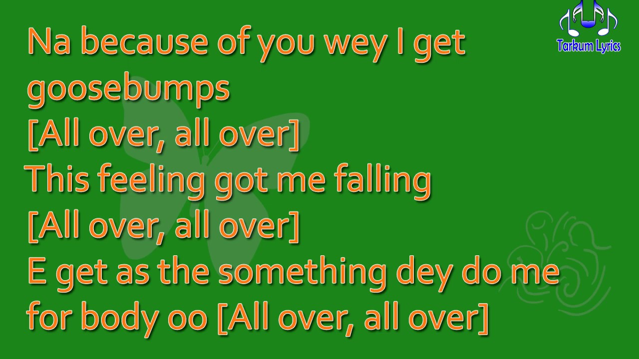 TIWA SAVAGE - All Over lyric video