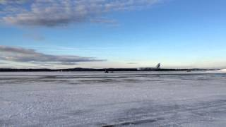 Antonov An-124 Takeoff from Goose Bay CYYR