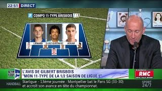 L'avis tranché de Gilbert Brisbois : « Mon 11-type de la ½ saison de Ligue 1»