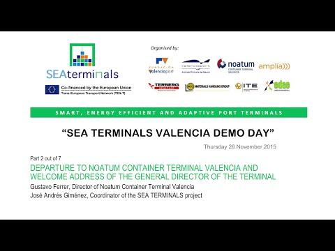 SEA TERMINALS Demo Day 2/7 (Valencia)