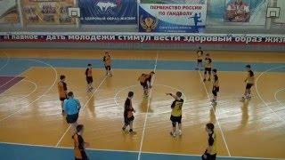Гандбол. Саратов - Белгород ч.3.  4.04.2016