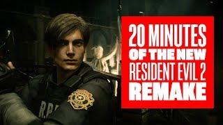 20 Minutes of Resident Evil 2 Remake - Resident Evil 2 Remake Gameplay