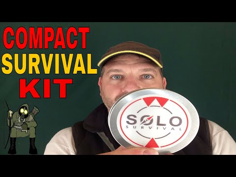 Solo outdoor survival kit