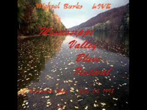 Michael Burks - Mississippi Valley Blues Festival. 1998