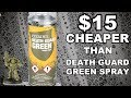 Cheap Death Guard Green Spray Primer Alternative | Warhammer 40K