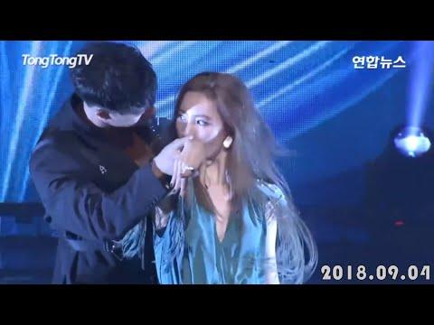 Sunmi & Cha Hyunseung (Backup Dancer) - Siren Live 2018