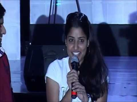 SARITA RAGHUVANSHI anchoring at Bangalore for Amazon.com!