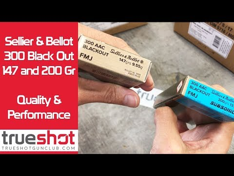 Sellier & Bellot 300 Blackout Ammo Review - YouTube