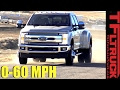 2017 Ford F-350 Dually 0-60 MPH Review: How Fast is the New Super Duty?