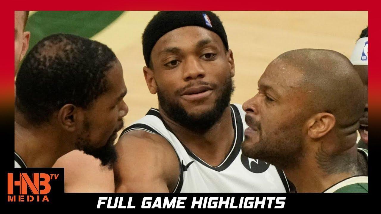 Brooklyn Nets vs Milwaukee Bucks Game 3 6.10.21 | Full Highlights